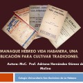Almanaque Hebreo Vida Habanera, una publicación para