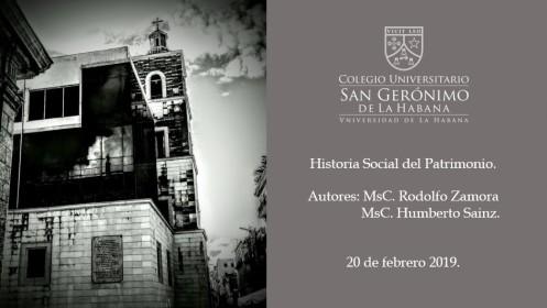Historia Social. Presentación
